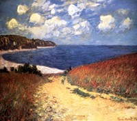Meadow Rd. to Pourville Fine Art Print