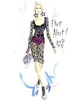 Flirt Alert Fine Art Print
