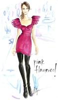 Pink Flamenco Fine Art Print