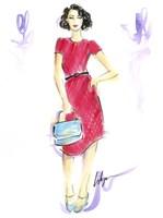 Queen Crimson Fine Art Print