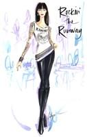 Rockin The Runway Fine Art Print