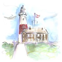 Montauk Lighthouse Fine Art Print