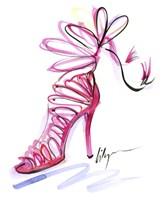 Pink Up Your Heels Fine Art Print