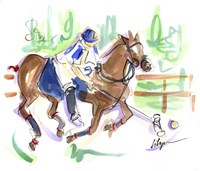 Polo Pleasure Fine Art Print