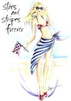 Stars And Stripes Forever Fine Art Print