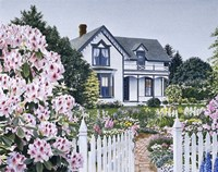 The Espey House Fine Art Print