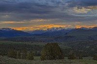 Yellowstone Sunrise Fine Art Print