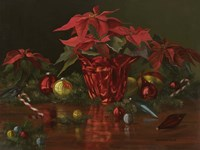 A Christmas Table Fine Art Print