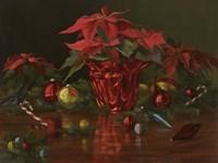 A Christmas Table Fine Art Print