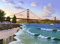 Golden Gate 1940 Fine Art Print