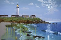Pigeon Point, CA Fine Art Print