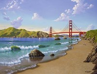 Golden Gate, CA 1940 Fine Art Print