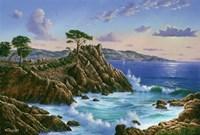 Lone Cypress - Carmel, CA Fine Art Print