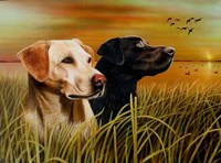 Hunting Dogs Fine Art Print