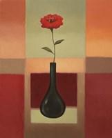 Black Vase 2 Framed Print
