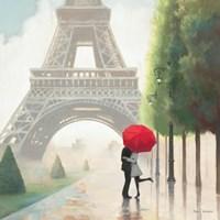 Paris Romance II Fine Art Print