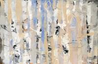 White Forest II Framed Print