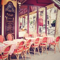 Cafe le Dome Fine Art Print