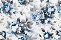 Scent of Roses Indigo Fine Art Print