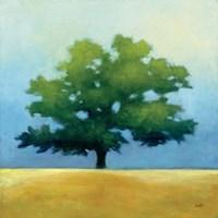Under the Oak I Framed Print