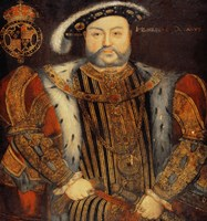 Portrait of Henry VIII E Fine Art Print