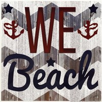 We Beach Fine Art Print