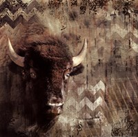 Call Of The Buffalo Fine Art Print