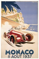 Monaco August Fine Art Print