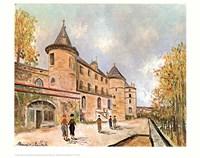 Chateau De Chastelloux Fine Art Print