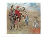 Saltimbanques Fine Art Print