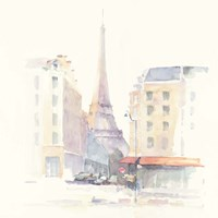 Paris Morning Square Fine Art Print