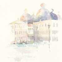 Venice Evening Square Fine Art Print