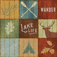 Lake Lodge VII Fine Art Print