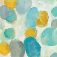 Painted Pebbles III Framed Print