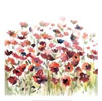 Through The Garden Fine Art Print