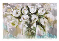 Pure Blanc Tulipa Fine Art Print
