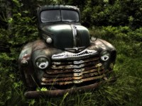 Rusty Auto I Fine Art Print