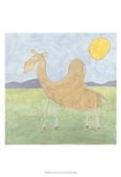 Quinn's Camel Framed Print