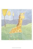 Quinn's Giraffe Framed Print
