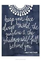Sun Quote II Framed Print