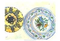 Plate Study II Framed Print