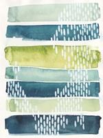 Aqua Streak I Fine Art Print