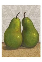 Pear Duo I Framed Print