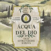 Olive Oil Labels I Framed Print