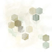 Honeycomb Reaction II Framed Print
