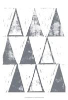 Triangle Block Print I Fine Art Print