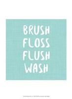Brush, Floss etc Fine Art Print