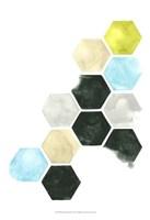 Hazed Honeycomb I Fine Art Print