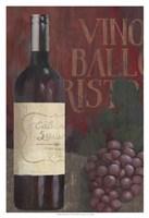Wine Still Life I Framed Print