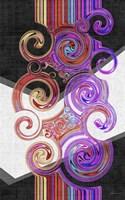 Twirl II Framed Print